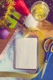 Nouvelle année au travail Photographie stock libre de droits