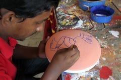 Nouvelle année bengali 1421 : Dhaka est humeur de fête Photo libre de droits