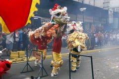 Nouvelle année chinoise à Manille Chinatown photos stock