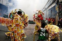 Nouvelle année chinoise à Manille Chinatown photos libres de droits