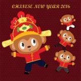 Nouvelle année chinoise 2016 Photos libres de droits