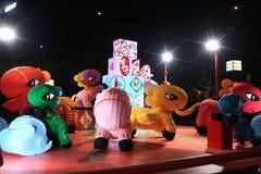 Nouvelle année chinoise du cheval Image libre de droits