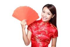 Nouvelle année chinoise heureuse images libres de droits