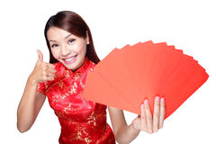 Nouvelle année chinoise heureuse photo stock