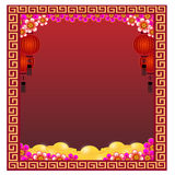 Nouvelle année chinoise - illustration Photographie stock