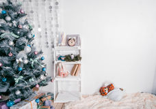 Nouvelle année dans l'intérieur Image stock