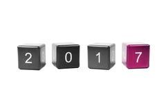 Nouvelle année 2017 de concept Photographie stock libre de droits