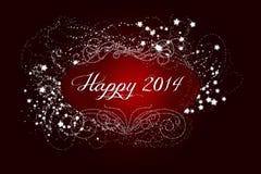 Nouvelle année de scintillement Image libre de droits