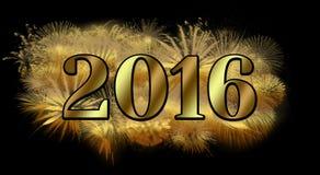 Nouvelle année de scintillement Photo libre de droits