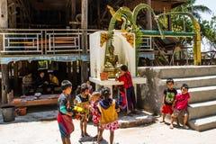 Nouvelle année du Laos photographie stock