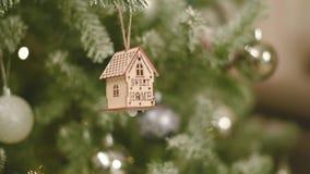Nouvelle année et décor de Noël, pin de vacances, et jouets clips vidéos
