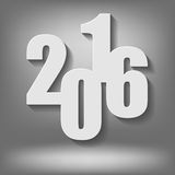 Nouvelle année Grey Background illustration libre de droits