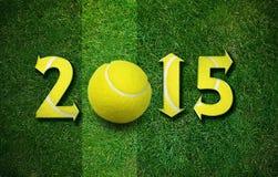 Nouvelle année heureuse de sport Images stock