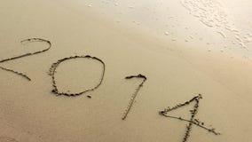 Nouvelle année 2014 venant Photos libres de droits