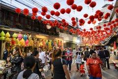 Nouvelle année chinoise en Thaïlande Photo libre de droits