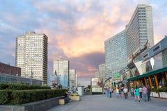 Nouvelle avenue d'Arbat moscou Russie Photographie stock libre de droits