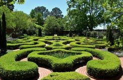 Nouvelle Berne, OR : Jardin 1770 de noeud de palais de Tryon photographie stock libre de droits
