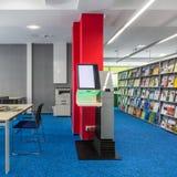 Nouvelle bibliothèque avec le dispositif d'auto-test