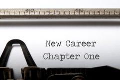 Nouvelle carrière
