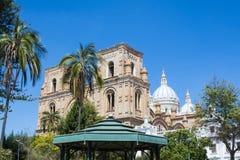 Nouvelle cathédrale de Cuenca, Equateur Photographie stock libre de droits