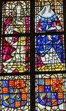 Nouvelle cathédrale Delft Holland Netherlands du Roi Willian Queen Mary Stained Glass Photos libres de droits