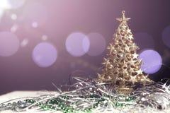 Nouvelle composition saisonnière en carte de voeux d'année et de Noël avec t Photo stock
