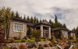 Nouvelle conception à la maison exécutive Photos stock
