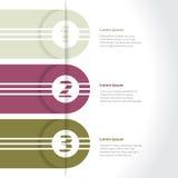 Nouvelle conception infographic fraîche Image libre de droits