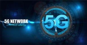 nouvelle connexion sans fil de wifi de l'Internet 5G illustration de vecteur