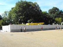 Nouvelle construction à la Maison Blanche  Image libre de droits