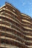 Nouvelle construction d'hôtel dans Rafailovici images libres de droits