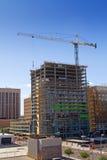 Nouvelle construction de bâtiments commerciale moderne Image stock