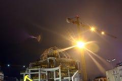 Nouvelle construction Taksim Istanbul de mosquée Photographie stock