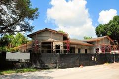 Nouvelle construction verte de construction de bureau Image libre de droits