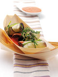 Nouvelle cuisine Royalty Free Stock Images