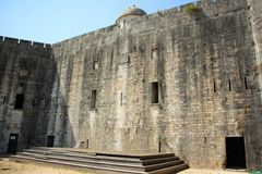 Nouvelle forteresse de Corfou, Grèce Image libre de droits