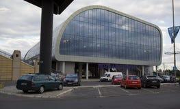 Nouvelle gare ferroviaire à Poznan, Pologne Photographie stock libre de droits