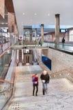 Nouvelle gare ferroviaire intérieure Breda, Pays-Bas Photographie stock libre de droits