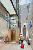Nouvelle gare ferroviaire intérieure Breda, Pays-Bas Photo stock