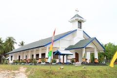 Nouvelle grande église luthérienne dans Manokwari Photographie stock