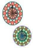 Nouvelle horloge murale de styliste Photo stock