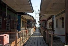 Nouvelle jetée, Georgetown, Penang, Malaisie Image stock