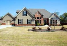 Nouvelle maison à vendre Images stock