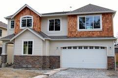 Nouvelle maison Image libre de droits
