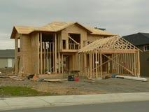 Nouvelle maison Photo stock