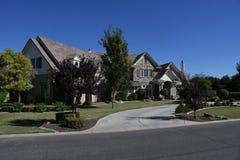 Nouvelle maison classique moderne en Arizona Images libres de droits