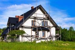 Nouvelle maison de campagne Photo libre de droits