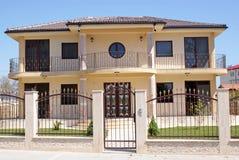 Nouvelle maison de luxe image stock