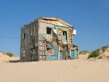 Nouvelle maison ou maison du besoin Images libres de droits