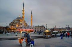 Nouvelle mosquée Istanbul photo stock